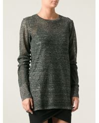 Isabel Marant Sheer Top - Lyst