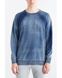 Cheap Monday Ace Sweatshirt blue - Lyst