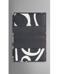 Burberry Sport - Book Cover Print Passport Cover - Lyst