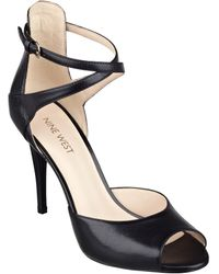 Nine West Doreen Ankle Strap Heels - Lyst