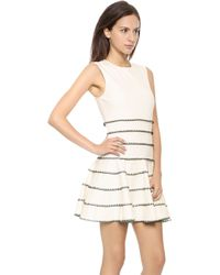 Torn By Ronny Kobo Britta Dress  Ivory - Lyst