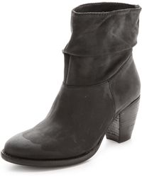 Steven by Steve Madden - Welded Booties - Black - Lyst