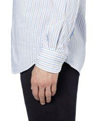Slowear - Glanshirt Slimfit Striped Cotton Shirt - Lyst