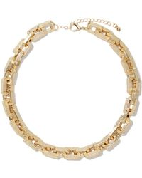 Nasty Gal Chain Up Necklace - Lyst