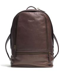 Coach Bleecker Traveler Backpack in Leather - Lyst