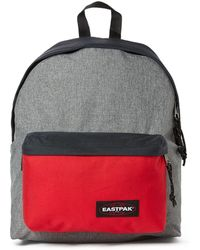 Eastpak Padded Pak'R Authentic Bloxx - Blue Red Strpe - Lyst