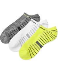 Calvin Klein Men'S Coolpass Low-Cut Liner Socks 3-Pack - Lyst