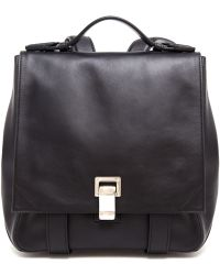 Proenza Schouler Ps Leather Backpack - Lyst
