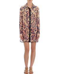 We Are Handsome - Cheetah Sheer Cover-Up - Lyst