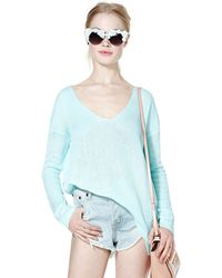 Nasty Gal Sky Not Tunic - Lyst