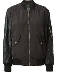 Diesel Black Lulu Jacket - Lyst