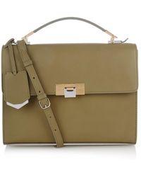 Balenciaga Le Dix Cartable S Leather Bag - Lyst