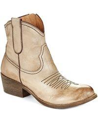 Naya - Sandy Western Boots - Lyst