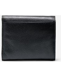 Cole Haan Reddington Small Flap Wallet black - Lyst