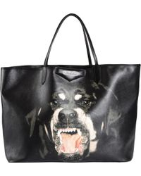 Givenchy Rottweiler-Print Large Antigona Tote - Lyst