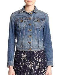 Burberry Brit Dymchurch Denim Jacket - Lyst