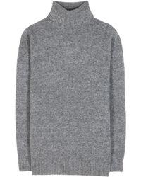 Balenciaga Oversized Wool-Blend Turtleneck - Lyst