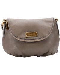 Marc By Marc Jacobs Taupe Leather 'Natasha' Shoulder Bag - Lyst