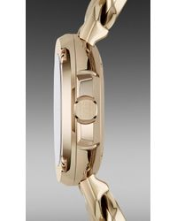 Burberry Brit - The Britain Bby1952 26mm Diamond Indexes - Lyst