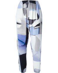 Kenzo 'Paper' Trousers - Lyst