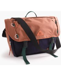 J.Crew - Trail Messenger Bag - Lyst