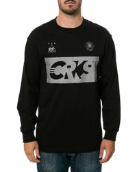 Crooks And Castles The Goalkeep Ls Tee - Lyst
