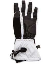 Canada Goose Down Gloves - White - Lyst