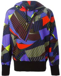 Christopher Kane Pages Print Sweatshirt - Lyst