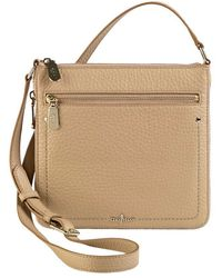 Cole Haan Sheila Leather Crossbody Bag - Lyst