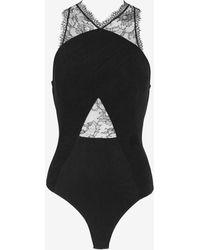 Noam Hanoch Lisi Lace Body Suit - Lyst