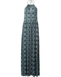 Tory Burch Kaleidoscope Print Maxi Dress - Lyst