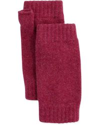 Brora | Ribbed Cashmere Wrist Warmers | Lyst