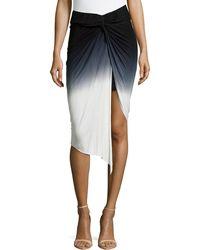 Young Fabulous & Broke Kulani Knotted Skirt - Lyst