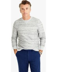 J.Crew | Space-dyed Reverse Terry Sweatshirt | Lyst