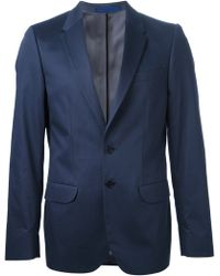 Paul Smith Button Front Jacket - Lyst