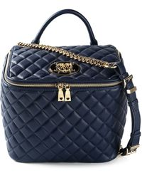 Love Moschino Quilted-Leather Box Bag - Lyst