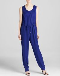 French Connection Jumpsuit - Miami Drape Drawstring - Lyst