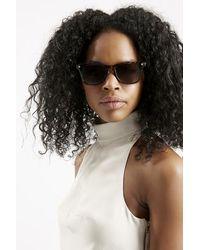 Topshop Wilson Wayfarer Sunglasses brown - Lyst