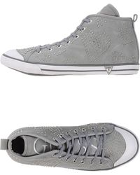 Guess High-Tops & Trainers gray - Lyst