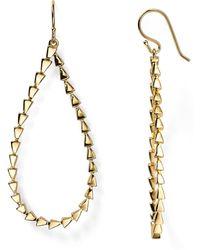 Melinda Maria - Large Pyramid Drop Earrings - Lyst