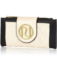 River Island Cream Quilted Ri Purse - Lyst