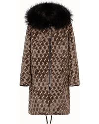 Fendi - Overcoat - Lyst