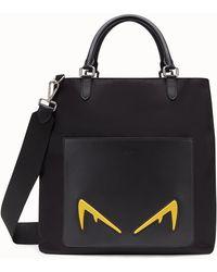 56293d9b145e Lyst - Fendi Logo Tape Duffle Bag in Black for Men