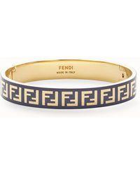 Fendi - Ff Bracelet - Lyst