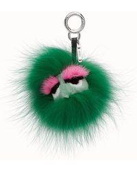 Fendi - Mini Eye Key Charm Mini Eye Key Charm - Lyst