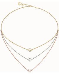Fendi - F Is Necklace - Lyst