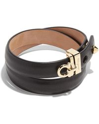 Ferragamo - Gancini Bracelet - Lyst