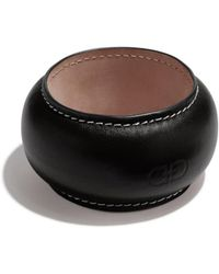 Ferragamo - Leather Gancini Bracelet - Lyst