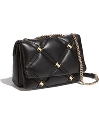 0ae3da35df2 Lyst - Ferragamo Marisa Shoulder Bag - Vintage in Black