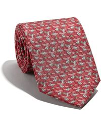 Ferragamo - Rabbit And Grass Printed Tie - Lyst